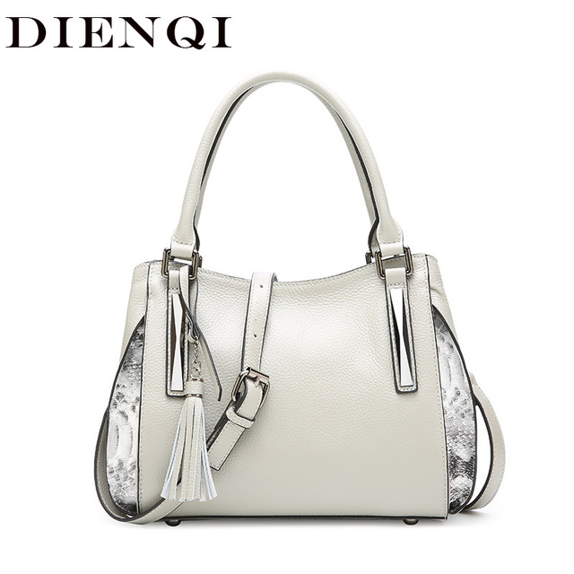 e2fce356585 US $44.65 50% OFF|Aliexpress.com : Buy DIENQI Luxury famous brand handbag  ladies genuine leather bag tassel women leather handbag designer winter  bags ...