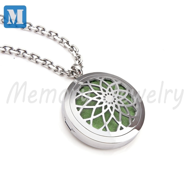 Aromatherapy diffuser pendant necklace locket personal wearable aromatherapy diffuser pendant necklace locket personal wearable aroma diffuser for essential oils young living newest oil aloadofball Gallery