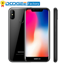 DOOGEE X70 4000 mAh 5.5 ''19: 9 ekran Smartphone Android 8.1 Yüz + Dokunmatik KIMLIK Cep telefonu Çift Arka Kamera 2 + 16G unloc...
