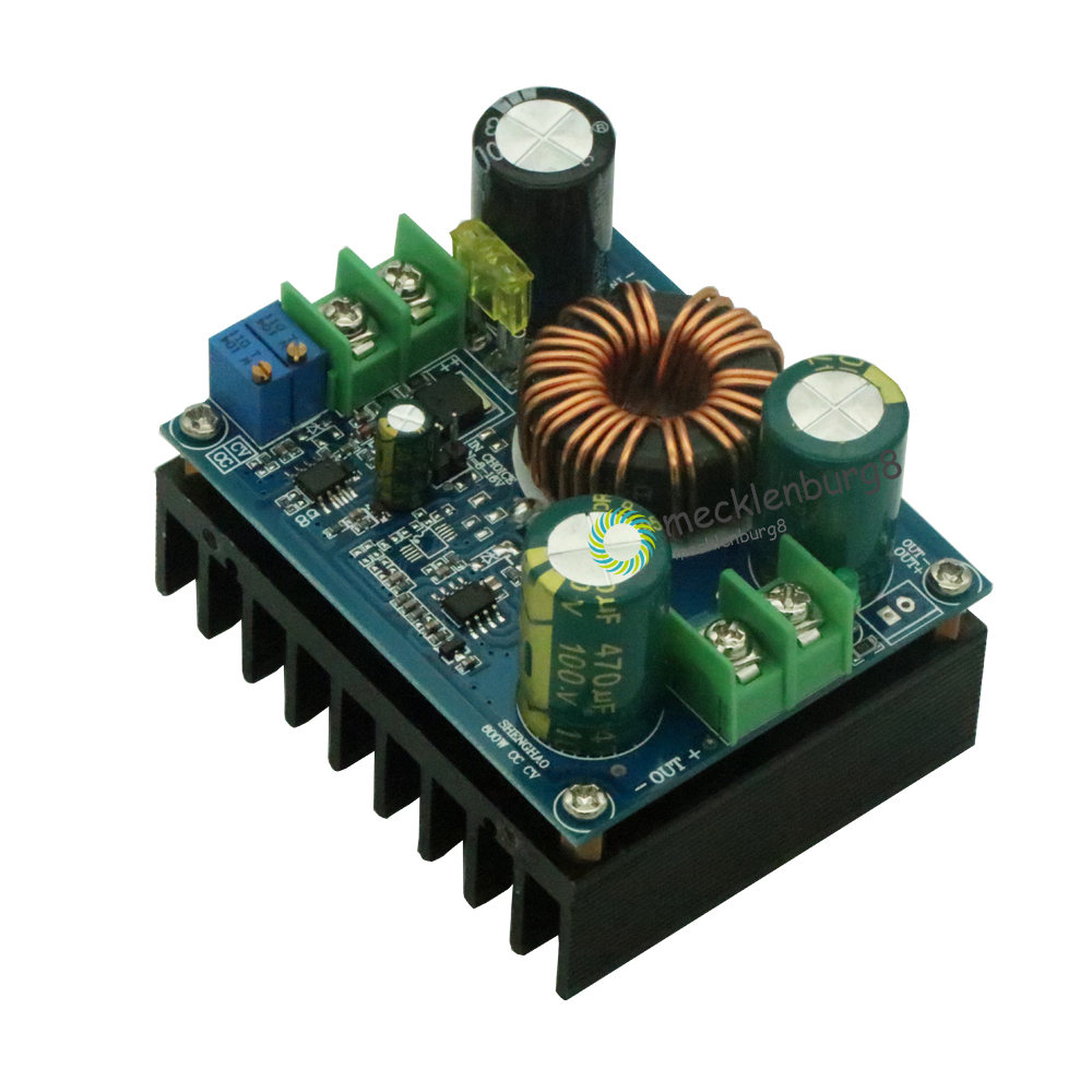 DC-DC 600W 10-60V to 12-80V Boost Converter Step-up Module Car Power Supply Electronic Circuit DIY image