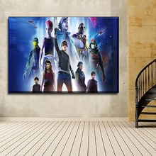 Wall Art Canvas Poster HD Print Pictures 1 Pieces Movies Ready Player One Paintings Home Decorative Living Room Framework