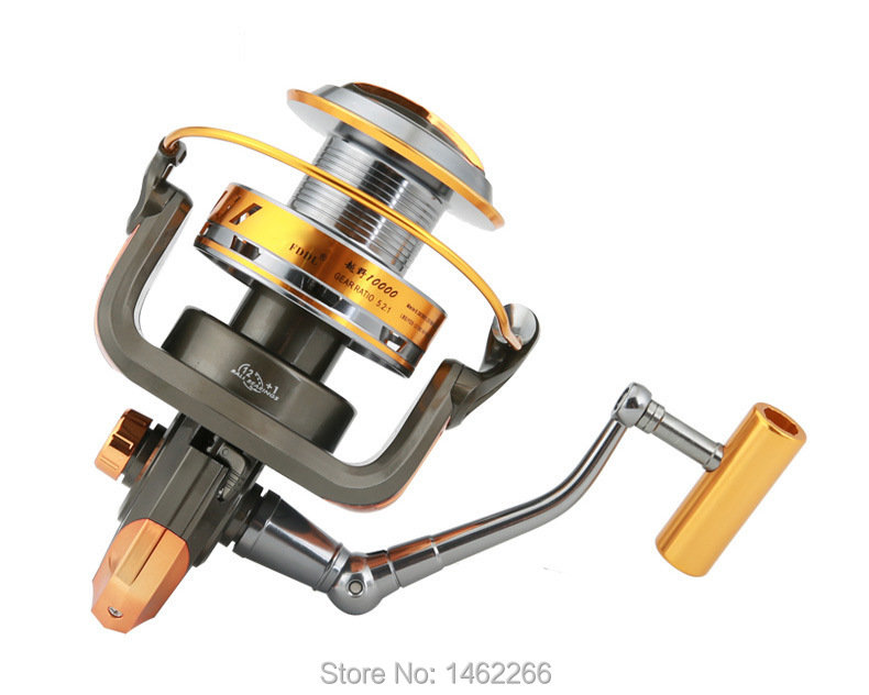 Image 2 - WOEN 10000 type Full metal wire cup Anchor reel 12+1BB Boat fishing Spinning wheel reel CNC rocker arm-in Fishing Reels from Sports & Entertainment
