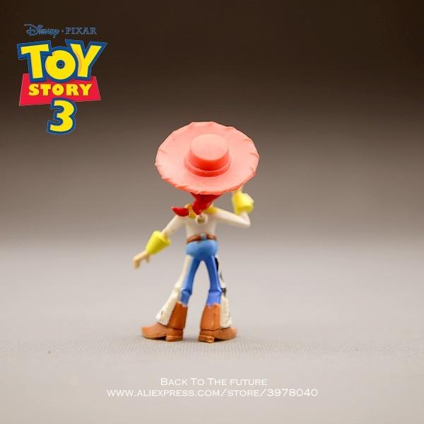 Disney Toy Story 3 Jessie mini muñeca Q Versión 5 cm PVC figuras de ... 3b7f54efd2a