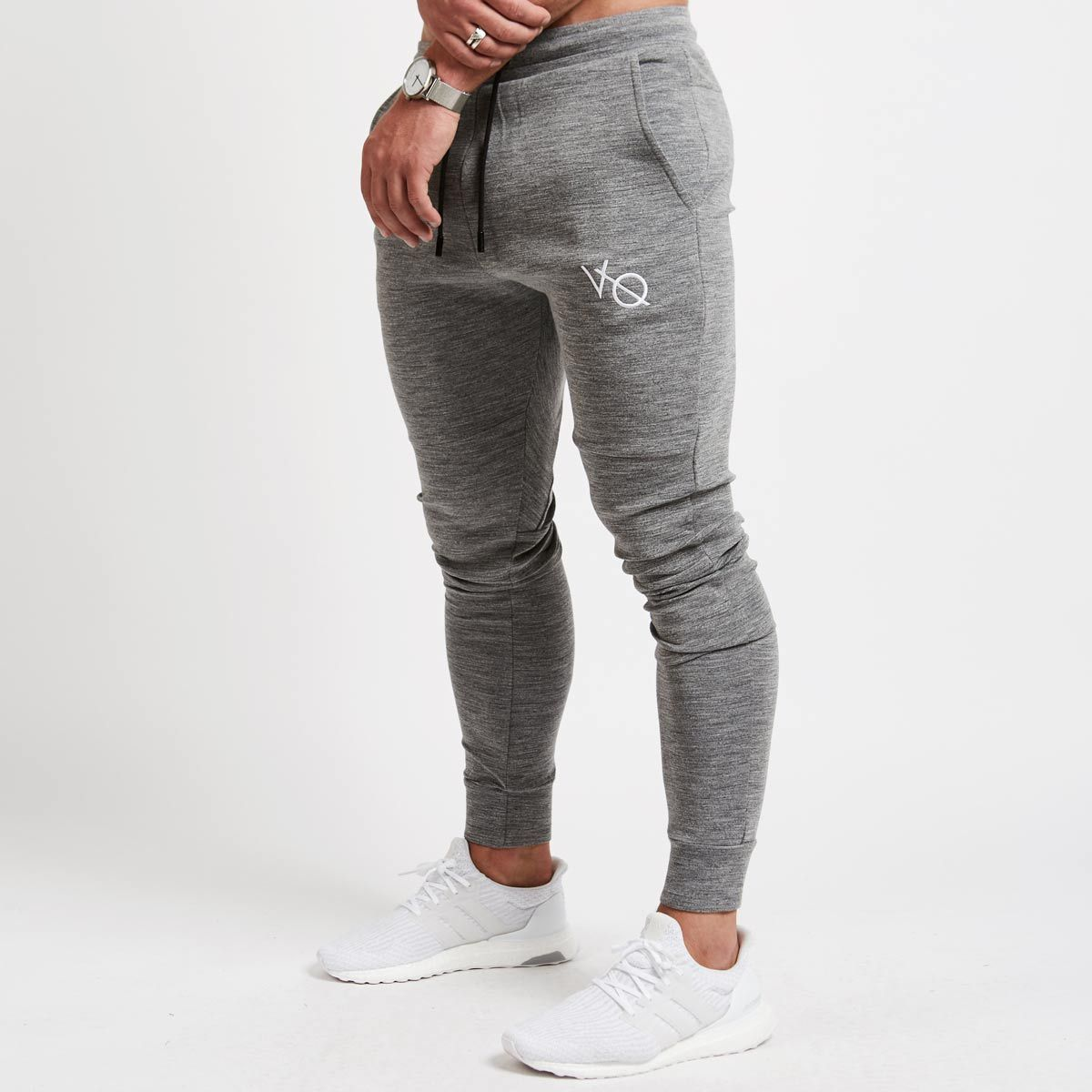 2017 new muscle brothers fitness exercise men to slim casual sweatpants