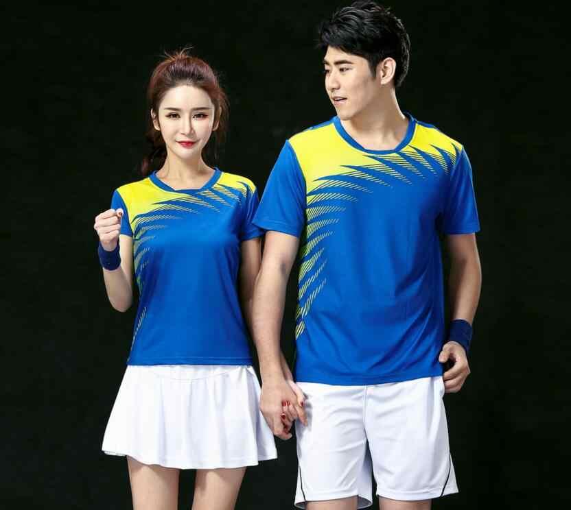 Новые волейбольные наборы спортивной одежды, Полиэстеровые быстросохнущие настольные теннисные шорты, теннисные Спортивные футболки Джерси, футболки для бадминтона
