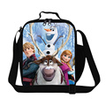 Cartoon Animal Sven Print Fresh Picnic Bag Children Cute Animal Olaf Cooler Lunch Bag Kids School Meal Package Lunch Box