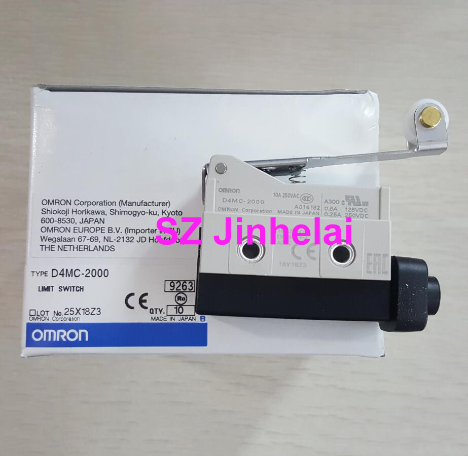 OMRON D4MC-2000 Authentic original Micro switch Travel switchOMRON D4MC-2000 Authentic original Micro switch Travel switch