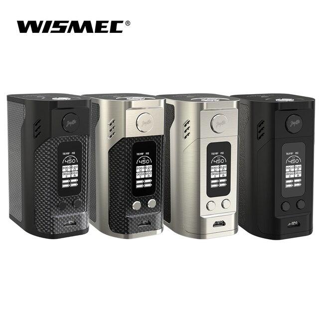 Оригинальный wismec reuleaux RX300 TC Mod поле 300 Вт Максимальная Выход использует четыре 18650 ячеек VW/TC-Ni/TC-Ti/TC-SS/режим ТКС E-сигареты вейп
