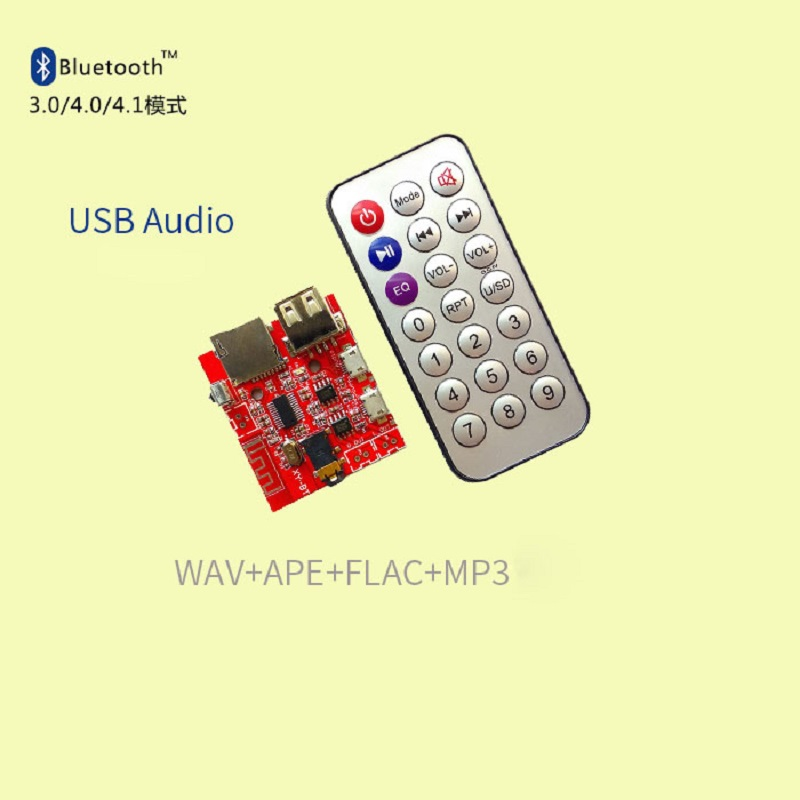 Bluetooth audio receiver board lossless music wav ape flac mp3 decoding module in Electricity Generation from Home Improvement