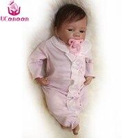 UCanaan/18 дюйм(ов) ов) Baby Alive Reborn кукла силиконовая Младенцы рожденные ручной работы игровой дом игрушки для детей настоящая кукла рождественски