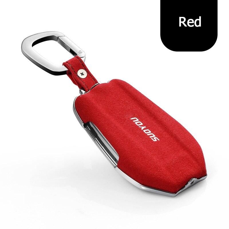 Boîtier de protection en alliage de Zinc + clé en fourrure pour BMW série 7 G11 G12 730li 740li 750li écran tactile intelligent à distance