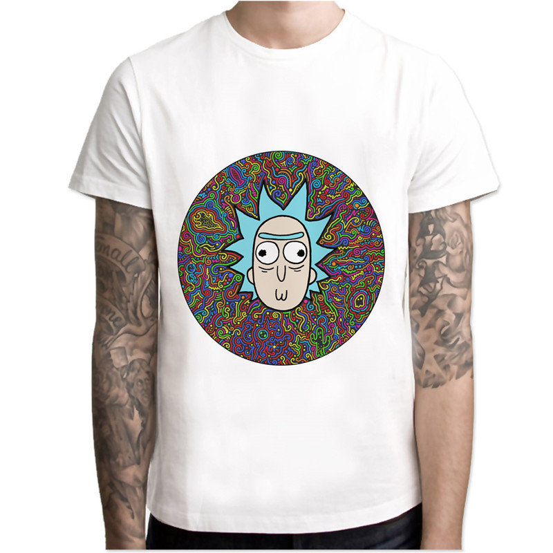 Rick And Morty T Shirt Men Print T Shirts Fashion Print T