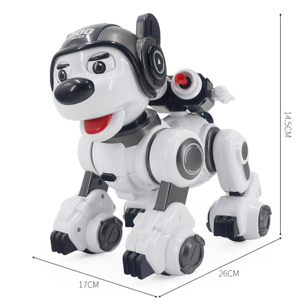 Intelligent RC Robot chien jouet Intelligent électronique animaux chien Intelligent Robot cadeau d'anniversaire éducation précoce Programmable Robot poupée