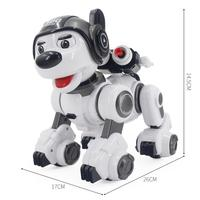 Intelligent RC Robot Dog Toy Smart Electronic Pets Dog Intelligent Robot Birthday Gift Early Education Programmable Robot Doll