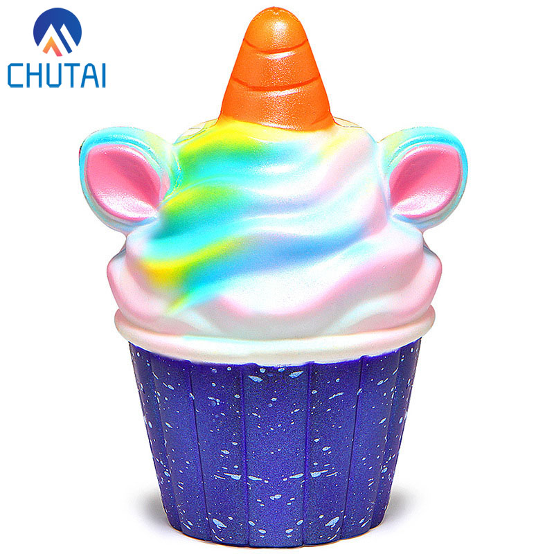 Relax Toys Colourful Squeeze Squishy Ice Cream Slow Rising Scented Relieve Stress Toy Gifts Squishies Soft Scented D301228 A Great Variety Of Goods Stress Relief Toy Squeeze Toys