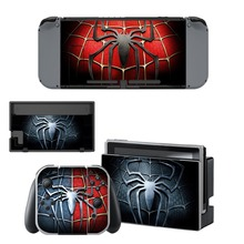Nintend Switch Vinyl Skins Sticker For Nintendo Console and Controller Skin Set - Avengers Spiderman