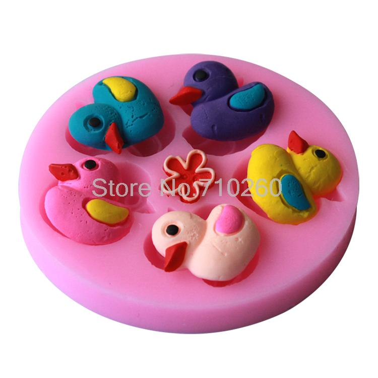 42 Best Dck Chocolate Molds Images On Pinterest: Beautiful Duck Swimming Water Cake Decorating Mold Tools