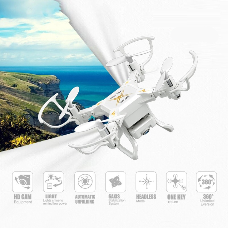 Global Drone Mini Drone with Wifi Camera Headless Mode drones 6 Axis Gyro quadrocopter 2.4GHz 4CH RC Helicopter VS CX10 JJRC H361
