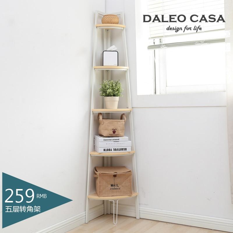 daleo casa ikea style home modern minimalist shelving corner shelf bookcase creative decorative. Black Bedroom Furniture Sets. Home Design Ideas