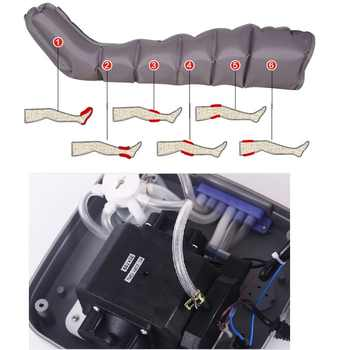 6 Gasbag Tall Man Extended version Air Compression Massager Handheld Controller Blood Circulation Pump Wrap Set