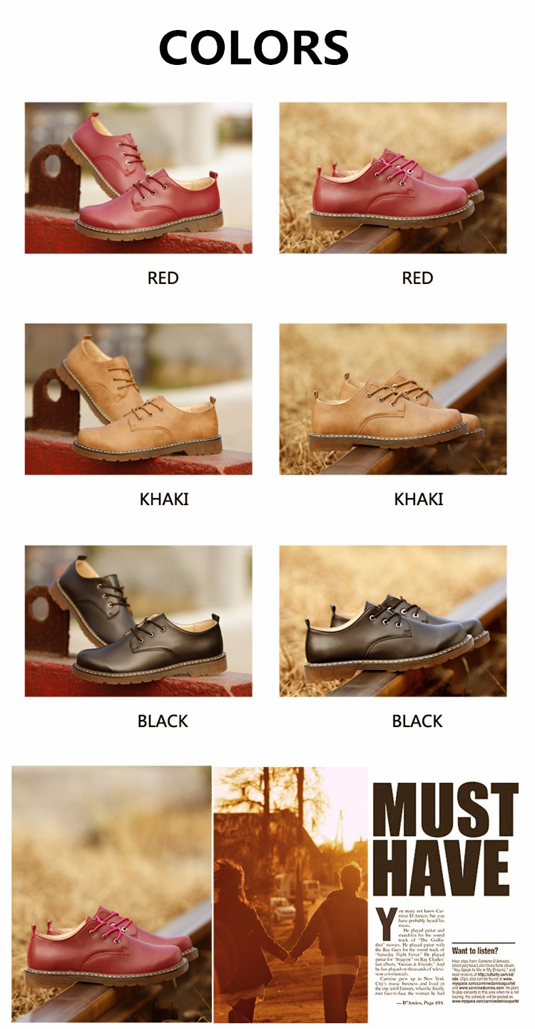 KUYUPP Fashion England Genuine Leather Shoes Women And Men Flats Oxfords Casual Lace Up Ladies Shoes Round Toe Men Loafers PX128 (10)