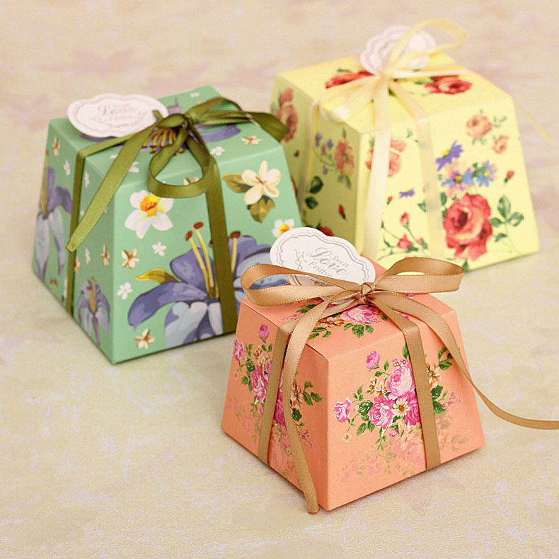 cheap wedding favor boxes in bulk