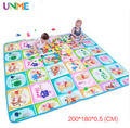 Thickness 0.5 CM New Best Quality Double Side Kids Play Gym Winnie Family and Mickey Child Carpet Rug Baby Crawling Mat Toys
