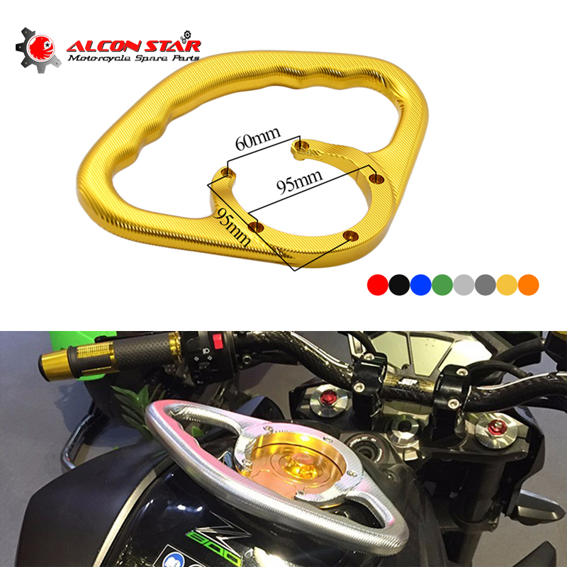 Sclmotos-Passenger Safety Handle Motorcycle Front Tank Handrails for Kawasaki Z800 2013-17 Z1000 2004-17 ZX-6R 2000-12 ZX-10R motoo motorcycle new cnc aluminum fuel gas caps tank cap tanks cover with rapid locking for kawasaki z750 z1000 zx 10r zx 9r
