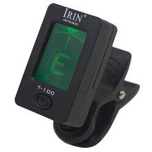 2Pcs IRIN 360 Degree Rotate Digital Chromatic Bass Ukelele Electronic Guitar Tuners