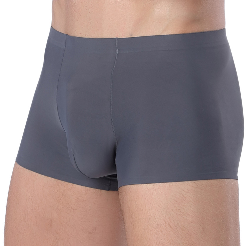 1pcs Seamless Men Boxers Luxury Silk Antibacterial Boxers Underwear  Men Sexy Under Wear Men Underpant Boxer Mens Underware Male