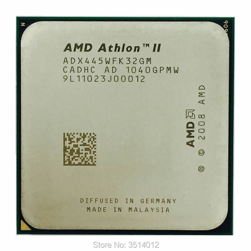 AMD Athlon II X4 615e 615 2.5 GHz Quad-Core CPU Processor AD615EHDK42GM Socket AM3