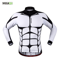 WOSAWE Men S New Cycling Jerseys Ciclismo Long Sleeve Bicycle MTB Bike Cycle Clothings