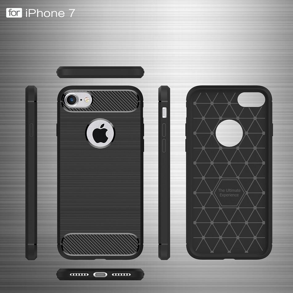 Luksuzna futrola torbica za mobilni telefon za iPhone 7 kućišta - Oprema i rezervni dijelovi za mobitele