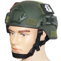Onetigris mich 2000 stijl ach tactische helm met nvg mount en Side Rail voor Airsoft Paintball Militaire Helm 2000 ABS helm