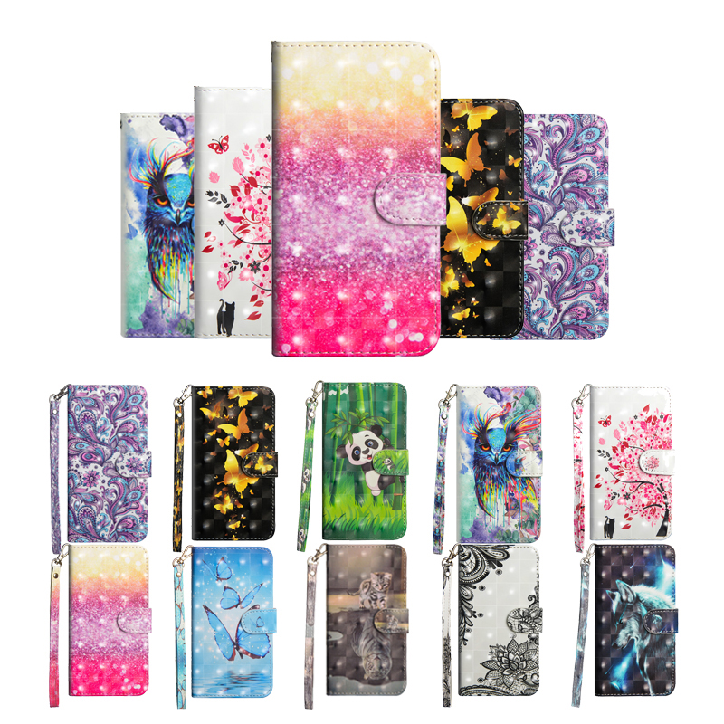 Learned Flip Leather Case On For Fundas Huawei Nova 3i Case For Coque Huawei Nova 3 Case Nova 3i Cover 3d Panda Wallet Stand Phone Cases Wallet Cases Cellphones & Telecommunications