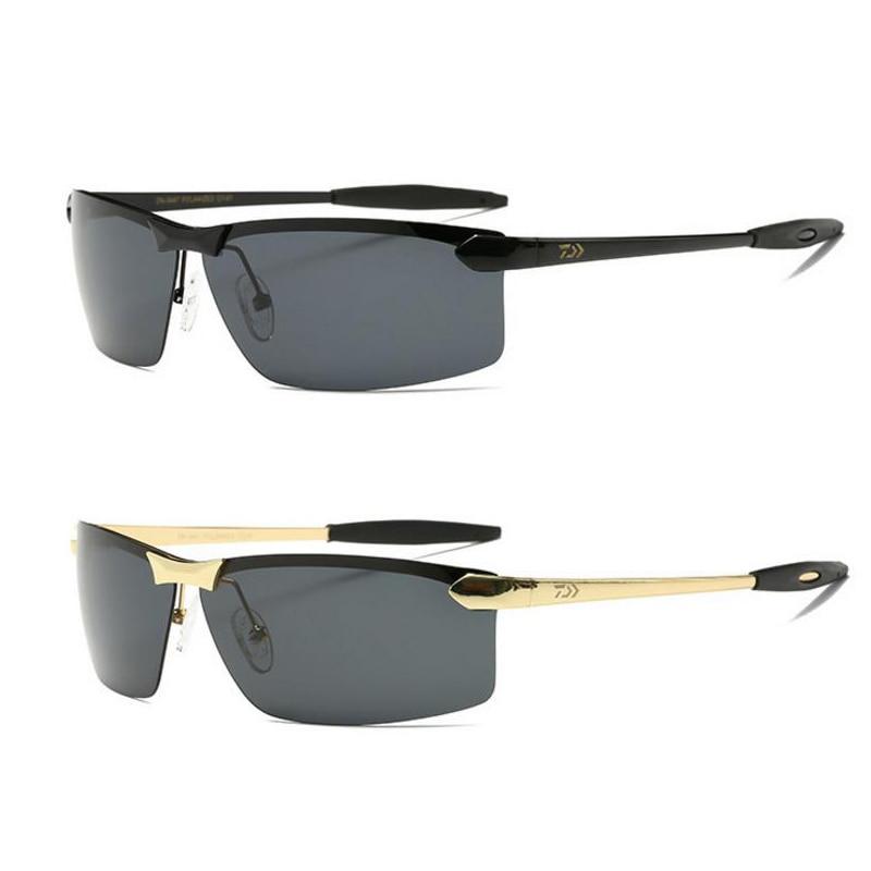 2018 New DAIWA Brand Fishing Glasses Outdoor Sports Fishing Sunglasses Men Fishing Glasses Riding Bike Climbing Sunglasses