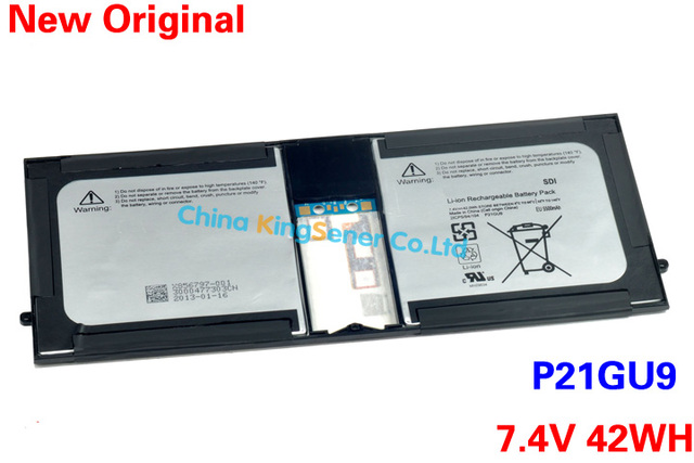 Genuine New Laptop Battery P21GU9 For SAMSUNG Microsoft Surface Pro 1 2 II Tablet P21GU9 2ICP/5/94/104 7.4V 5500mAh/42WH