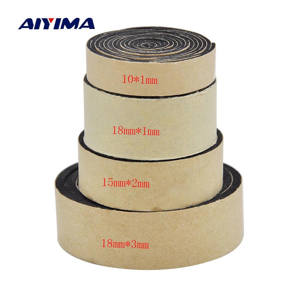 AIYIMA 2M Audio Active Speakers EVA Sponge Foam Single-sided Tape Speaker Repair Parts Accessories Home Theater Sound System maudio