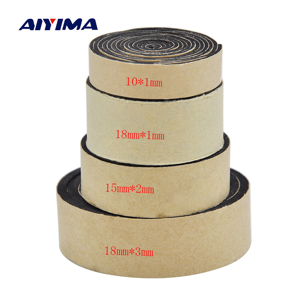 AIYIMA 2M Audio Active Speakers EVA Sponge Foam Single-sided Tape Speaker Repair Parts Accessories Home Theater Sound System