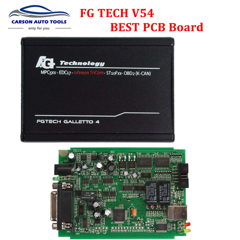 Best Version fgtech Galetto 4 Master ECU Chip Tuning Tool FG Tech v54 OBD Galletto 4 Full Chip Support Full Function DHL free