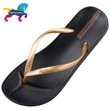 Hotmarzz Brand Designer Sandals Flip Flops Women Casual Flat Slippers Solid Color Fashion Beach Slides HM0738