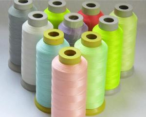Polyester High quality Non fading fluorescence at night sewing machine line noctilucent thread DIY garment accessories