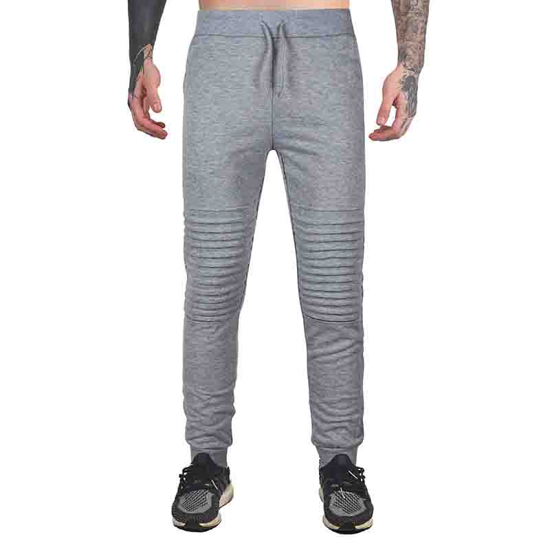 HOT 2020 Autumn Winter Sport Running GYM Men's Pants Elastic Drawstring Pure Color Pleating Runway Sweatpants Men Harem Pants