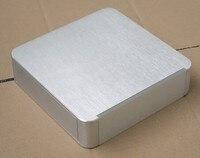 둥근 전체 알루미늄 BZ2205R 프리 앰프 박스 DAC 인클로저 앰프 섀시 psu 케이스