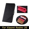 Funda Cartera de lujo para Xiaomi Redmi S 3 s funda Redmi 3 Pro S 3 s libro cubierta abatible PU cuero soporte teléfono fundas para Redmi 3 Pro