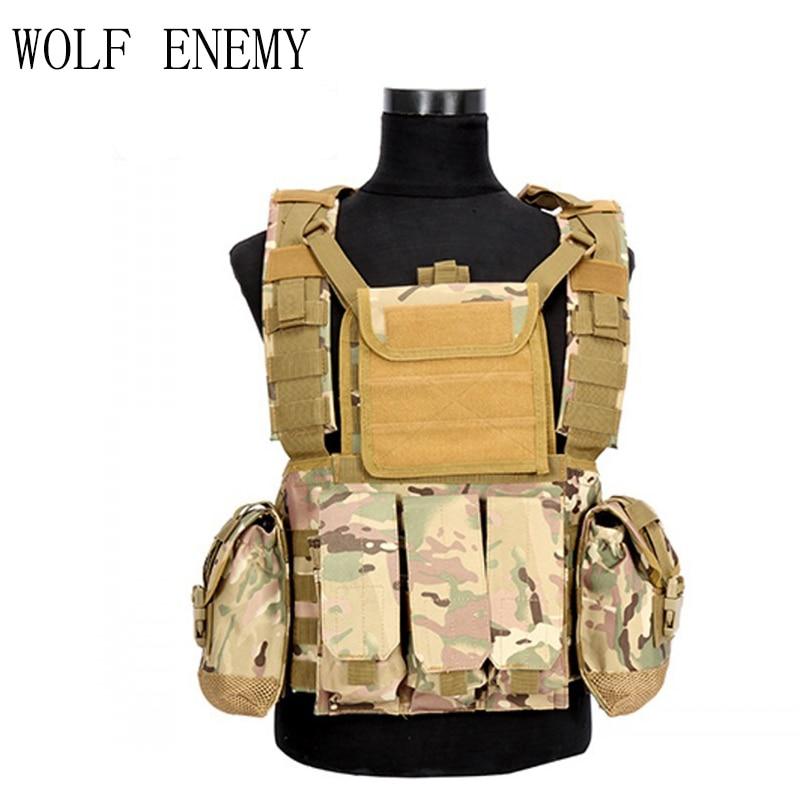 3 liter vattenpåse Militär USMC Tactical Combat Molle RRV Bröst - Sportkläder och accessoarer