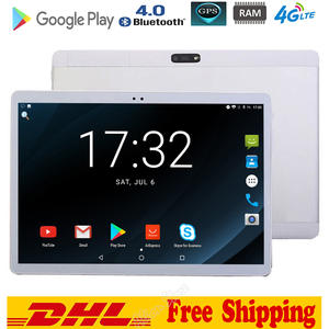 10inch Tablet Phone-Call Wifi Sim-Card Android 8.0 Dual MT8752 3G/4G LTE 4GB 64GB IPS