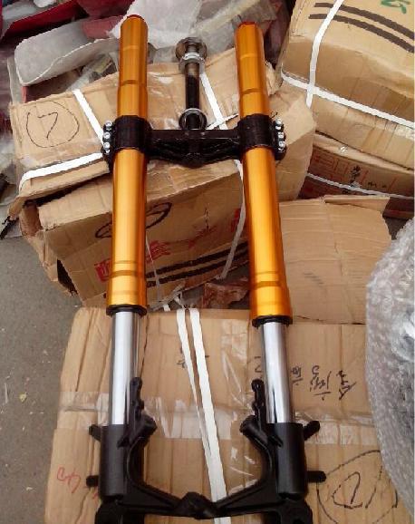 R$ 1480 44 |Modified motorcycle front fork inverted suspension hard and  soft adjustable em Proteção Anti-Quedas de Automóveis & Motos no