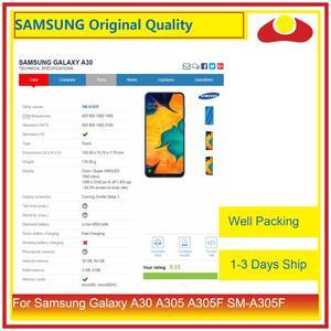 """Image 3 - Оригинальный 6,4 """"для Samsung Galaxy A30 A305 A305F SM A305F ЖК дисплей с сенсорным экраном дигитайзер панель Pantalla в комплекте"""