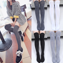 Sexy Cotton Socks Hot New 1Pair Women Fashion Long Thigh High Warm Quality Over Knee 2018 Classics